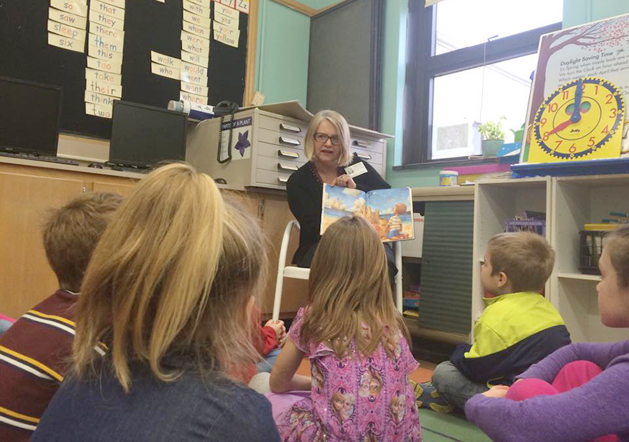 Kiwanis members volunteer to read books in all first-grade classrooms one day per week for three consecutive weeks. At the close of the program, Kiwanis provides one children's book for each student free of charge. Schools involved include Dixon and Grand Detour, both public and parochial. <em>April & May</em>